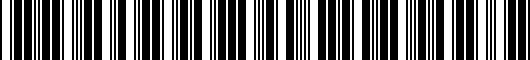 Barcode for PT21235053RC