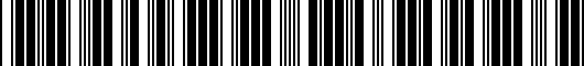 Barcode for PT27134R7223