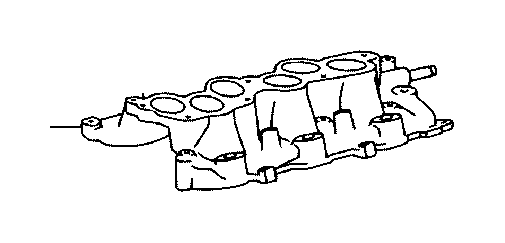Toyota Camry Engine Intake Manifold  Engine Component That Directs Air To The Engine